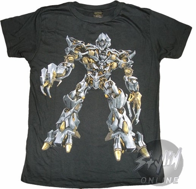 Transformers Megatron T-Shirt Sheer