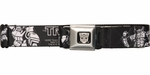 Transformers Movie Black and White Seatbelt Belt
