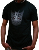 Transformers Movie Decepticon Logo T-Shirt Sheer