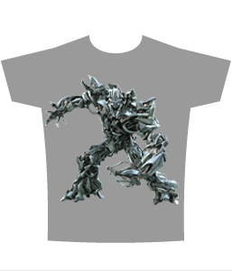 Transformers Movie Megatron T-Shirt Sheer