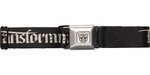 Transformers Name Autobot Logo Black Seatbelt Belt