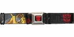 Transformers Name Classic Bumblebee Seatbelt Belt