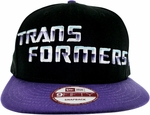 Transformers Name Decepticon Hat