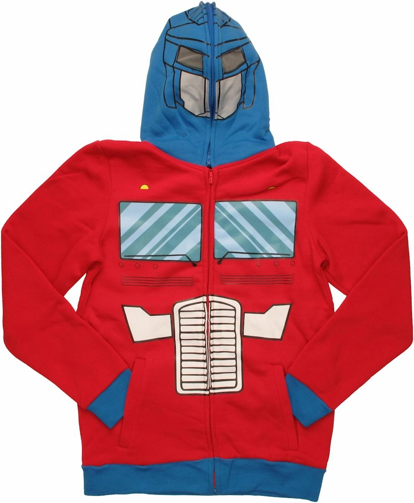 Transformers Optimus Costume Hoodie