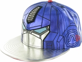 Transformers Optimus Prime Chrome Face 59FIFTY Hat