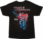 Transformers Optimus Prime G1 T Shirt