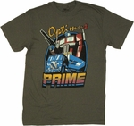 Transformers Optimus Prime Truck T Shirt