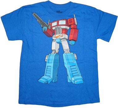 Transformers Optimus Youth T Shirt