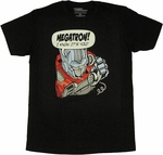 Transformers Prank Call T Shirt Sheer