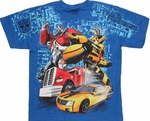 Transformers Prime Autobot Duo Youth T Shirt