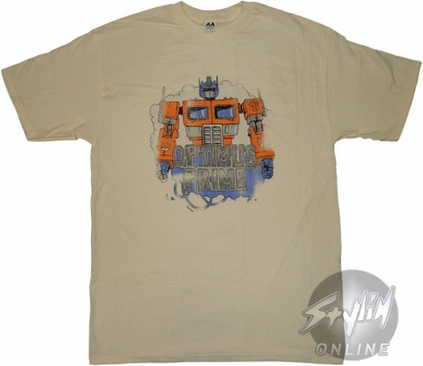 Transformers Prime Cloud T-Shirt
