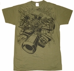 Transformers Prime Shot T-Shirt Sheer