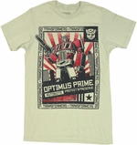Transformers Protect Preserve T Shirt Sheer