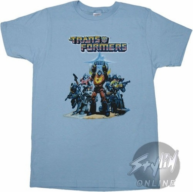Transformers Rodimus Poster T-Shirt Sheer