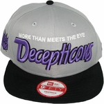 Transformers Slogan Decepticon Hat