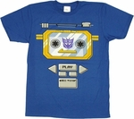 Transformers Soundwave Costume T Shirt Sheer