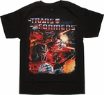 Transformers Space Battle T Shirt