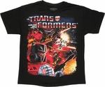 Transformers Space Battle Youth T Shirt