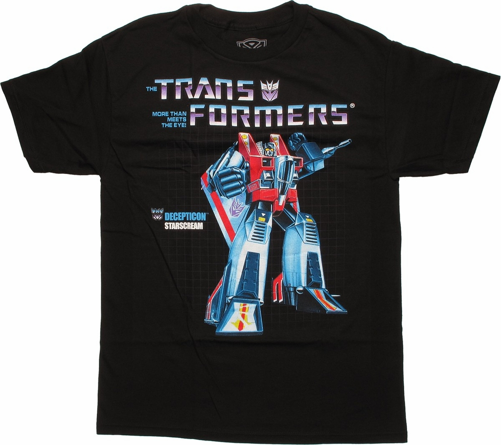 Transformers Starscream G1 T Shirt