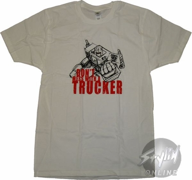 Transformers Trucker T-Shirt Sheer