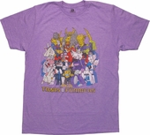 Transformers Vintage Group T-Shirt