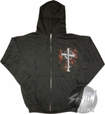 Trinity Blood Cross Hoodie