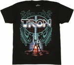Tron Poster T Shirt Sheer