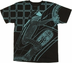 Tron Rider T Shirt Sheer