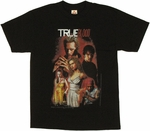 True Blood Comic T Shirt