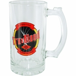 True Blood Drink Label Glass Mug