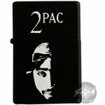 Tupac Half Face Lighter
