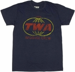 TWA Baggage Carrier T Shirt Sheer