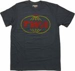 TWA Logo T Shirt Sheer