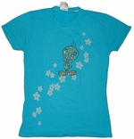 Tweety Flowers Baby Tee
