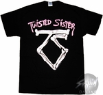 Twisted Sister Logo T-Shirt