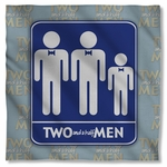 Two and a Half Men Sign Bandana