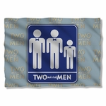 Two and a Half Men Sign Pillow Case