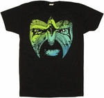 Ultimate Warrior Face T Shirt Sheer