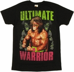 Ultimate Warrior Flex T Shirt Sheer