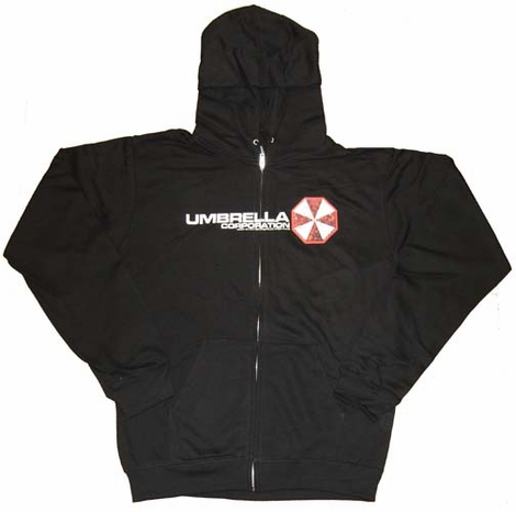 Umbrella Corporation Zipper Hoodies