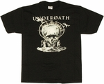 Underoath Skull Youth T Shirt