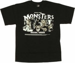 Universal Studios Monsters T-Shirt