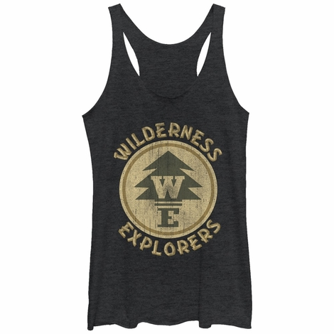 Up Explorers Logo Tank Top Juniors T-Shirt