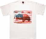 USA Buffalo Subtle T Shirt