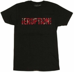 Van Halen Eruption T-Shirt Sheer