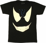 Venom Grin T Shirt Sheer