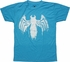 Venom Logo Drip Heather Blue Youth T Shirt