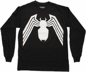 Venom Logo Long Sleeve T Shirt