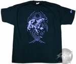 Venom Purple Lines T-Shirt