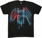 Venom Spray Logo T Shirt Sheer